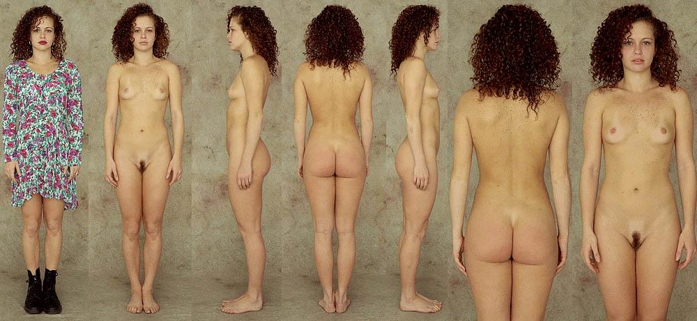 фото женщин в одежде и без со всех сторон