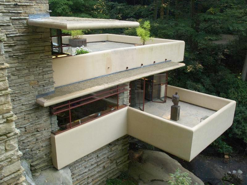 Solitary dog sculptor i architecture frank lloyd wright for Terrace house stream online
