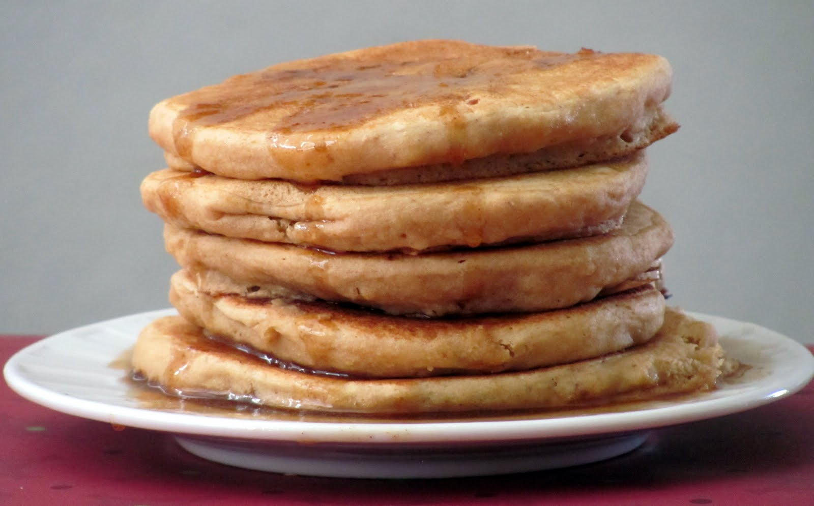 Little House of Veggies: Whole Wheat Pancakes with Cinnamon Butter ...