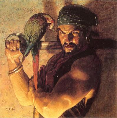 Le Barbillon - L'ascension et la Descente aux Enfers d'un Capitaine. Pirate