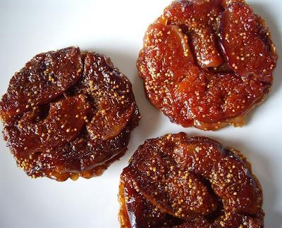 Les gourmandises de sophie tarte tatin aux figues d clinaison en trois versions - Cuisiner des figues fraiches ...