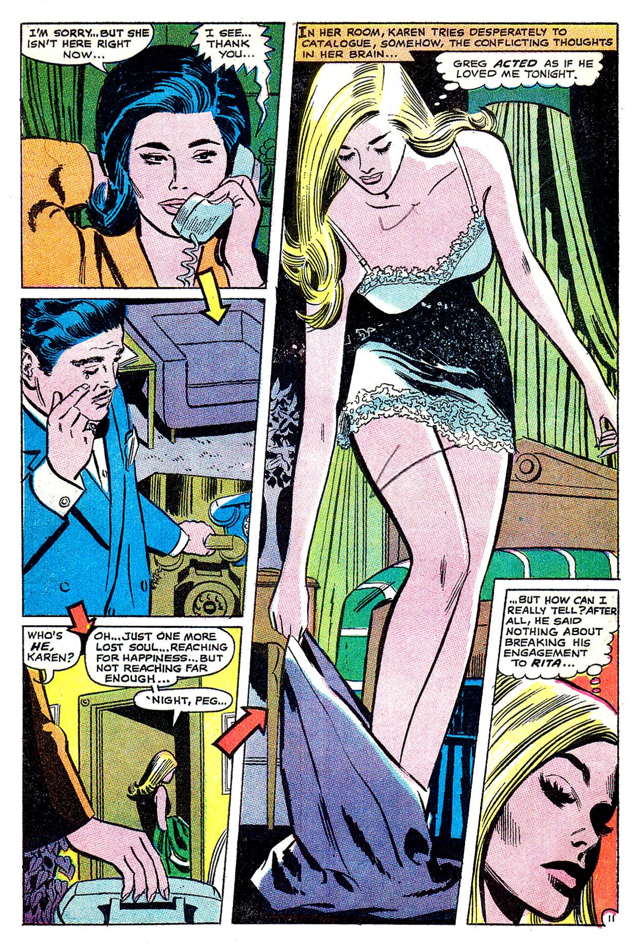 Read online Secret Hearts comic -  Issue #135 - 30