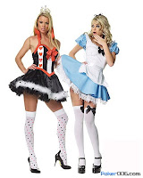 Sexy Poker Halloween Costumes