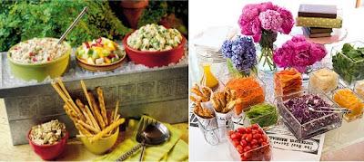 salad bar photos
