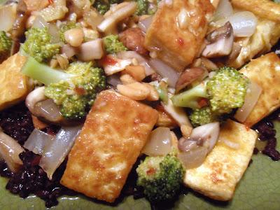 Veggiegirl Health Counseling: Kung Pao Broccoli and Tofu