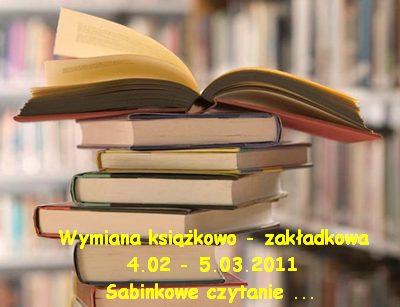 Wymiana książkowa - do 5 marca