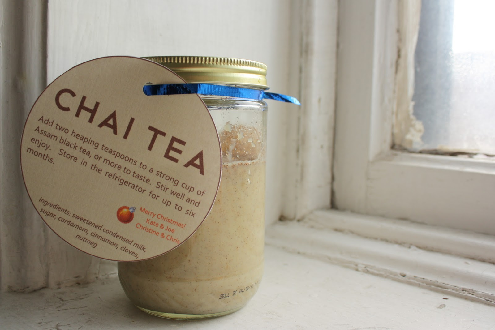 homemade chai tea concentrate - HOMEGROWN