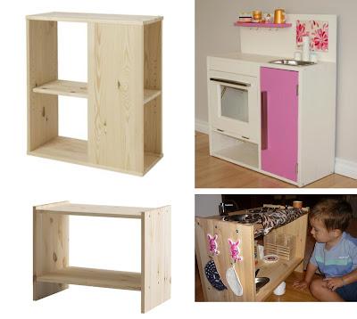 M a m diy cocina de juguete for Cocina madera juguete ikea