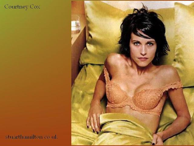 Courteney Cox, la actriz más sexy del mundo en