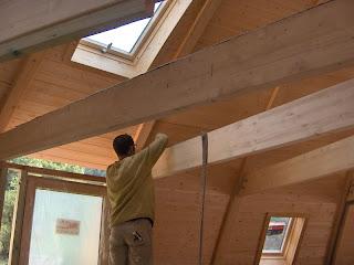 Le chalet tournesol maison domespace en location les - Bande resiliente plancher ...