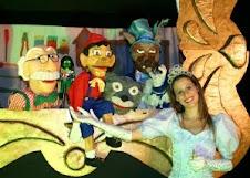 Espetáculo infantil: Pinóchio em bonecos
