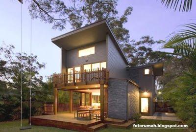 bentuk rumah minimalis on Rumah Minimalis yang Dinamis dengan Nuansa Kontemporer