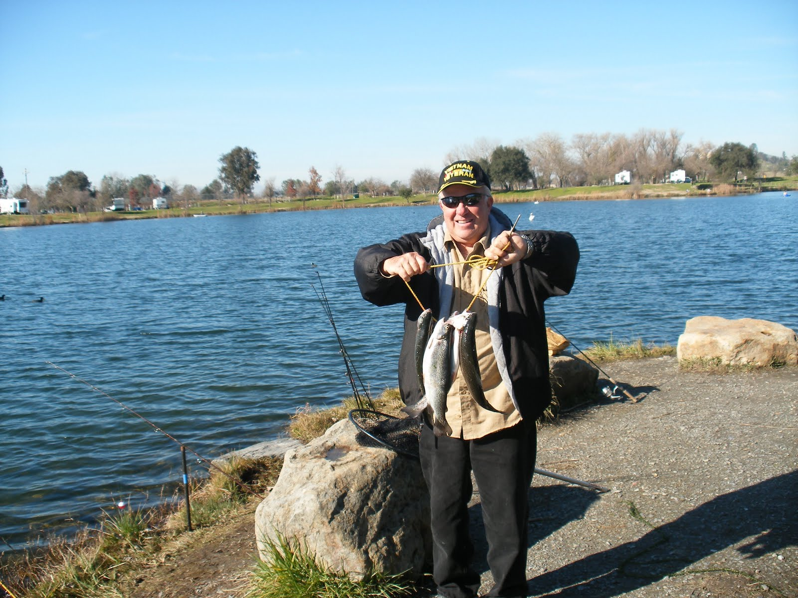The mother lode fisherman lake camanche fishing report for Lake pardee fishing report