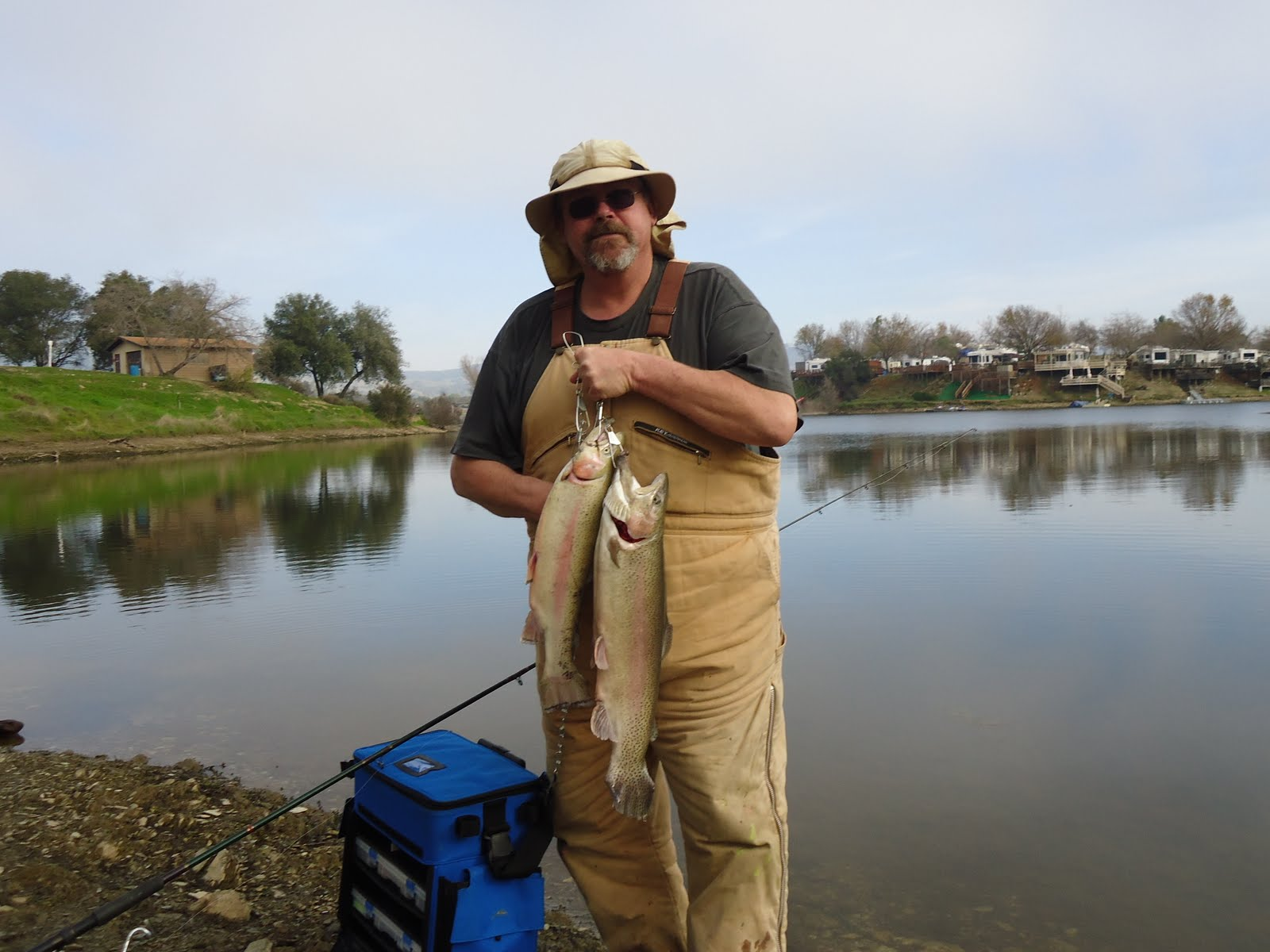 The mother lode fisherman lake amador fishing report 2 2 12 for Lake amador fishing report