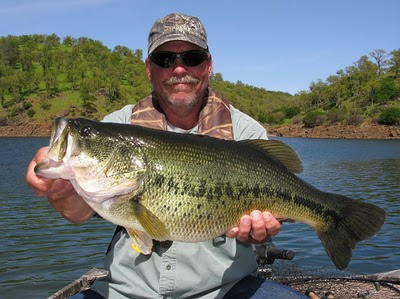 The mother lode fisherman lake pardee fishing report 2 2 12 for Lake amador fishing