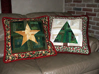Two Christmas Pillows Pattern