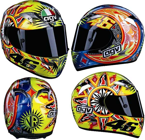 valentino rossi replica helmets Photo