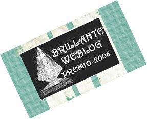 Brillante Weblog Award