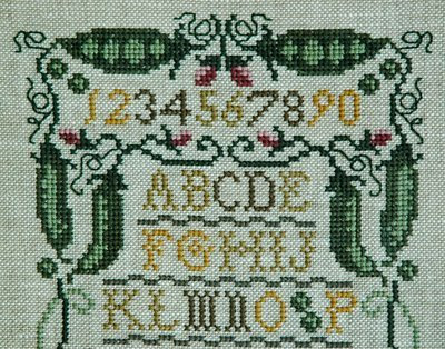 portion of a Prairie Schooler Garden Sampler