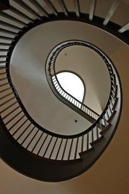 Trustee's Office spiral staircase