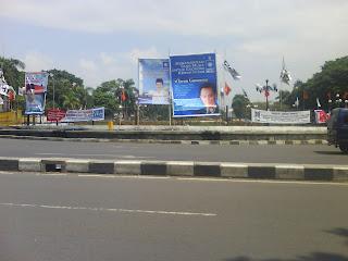 Spanduk Pemilu 2009