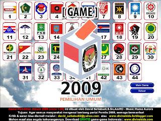 GAME PEMILU 2009 Karya David Setiabudi