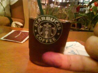 Kopi gratis dari StarBuck Coffee