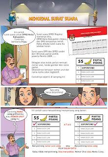 Komik Kampanye Damai Pemilu Indonesia - halaman 4