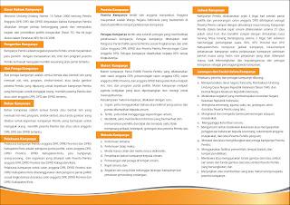 Brosur Panduan Kampanye Pemilu 2009  - Halaman 1
