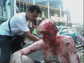 Foto salah satu korban bom  JW Marriott dan Ritz-Carlton Timothy Mackay CEO PT. Holcim Indonesia