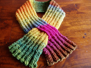 Free Crochet Patterns Keyhole Scarf : KEYHOLE PATTERN SCARF Free Patterns