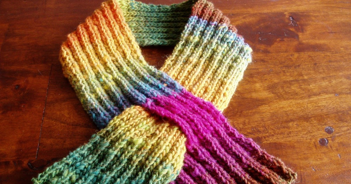 Knitting Rhyme Off Jumps Jack : Off jumps jack noro keyhole scarf with pattern