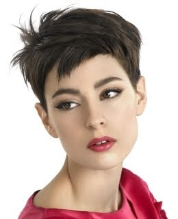 Choppy Pixie Hairstyles
