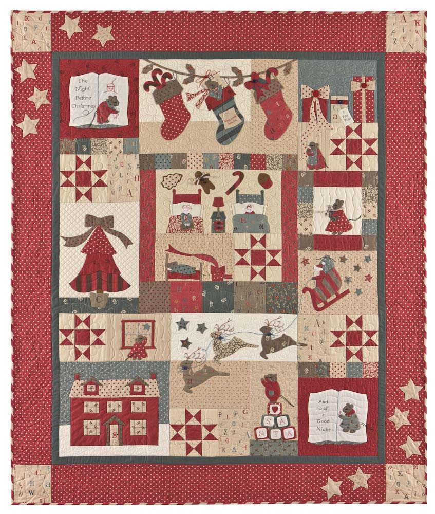Quilting by the Bay: Twas the Night Before Christmas BOM