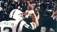 Joe Namath and the New York Jets win Super Bowl III
