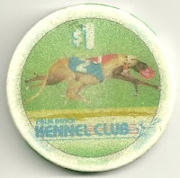A $1 chip from the Palm Beach Kennel Club