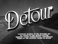 Title screen for 'Detour' (1945)