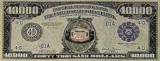 $40,000 bill