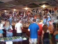 Dancing on the bar at Hogs & Heifers