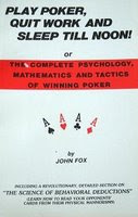 'Play Poker, Quit Work and Sleep Till Noon!' by John Fox (1977)