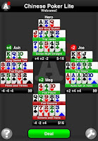 Chinese Poker Lite for the iPhone