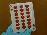 The 21 of hearts