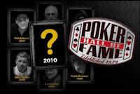 Who will be among the class of 2010 for the Poker Hall of Fame?