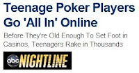 ABC Nightline reporting on online poker