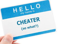 Hello, my name is Cheater. (So What?)