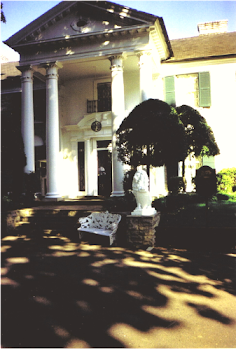 Front Entrance to Graceland