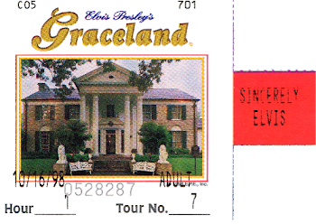 Ticket to Elvis Presley's Graceland