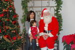 My Great Niece Chloe Visits Santa