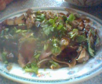 小菜,快切牛肉、豆干