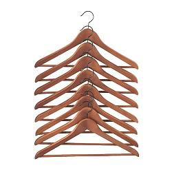 Good Wooden Hangers, $3.95/ 8 Pack. They Are Of Exactly The Same Quality As The  Hangers We Sent Our Clothes Out On At Simonu0027s.They May Be Cheap, ...